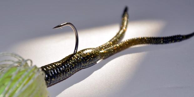 Trailer split-tail, pentru un plus de atractie, insa suficient de subtil pentru stiucile ceva mai mofturoase.