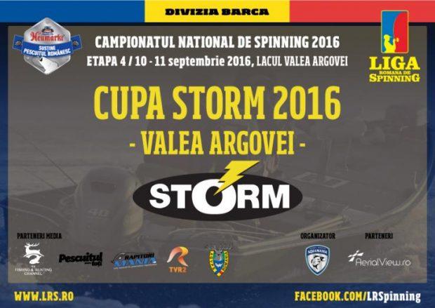 Cupa Storm 2016 Valea Argovei