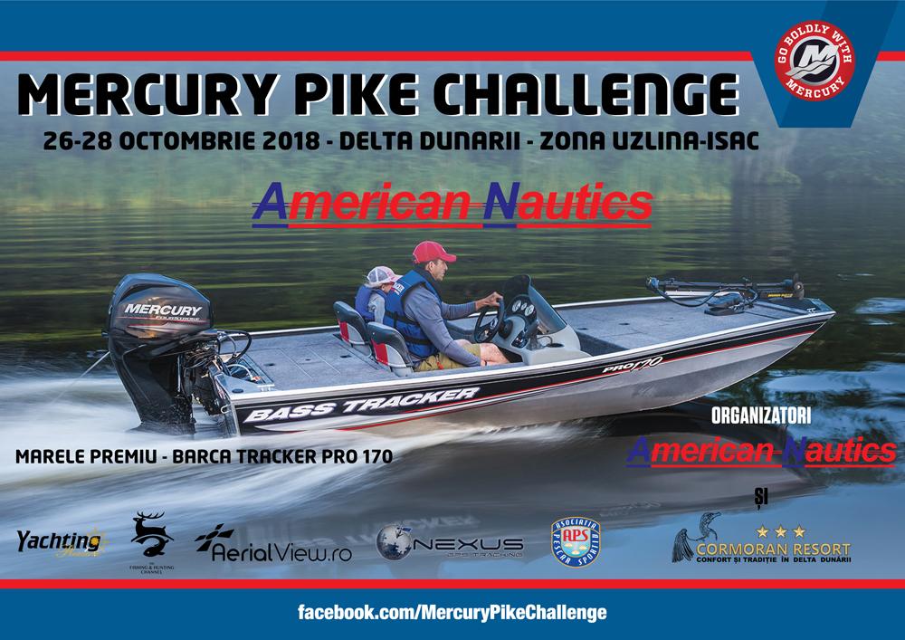 Cupa MERCURY PIKE CHALLENGE 2018
